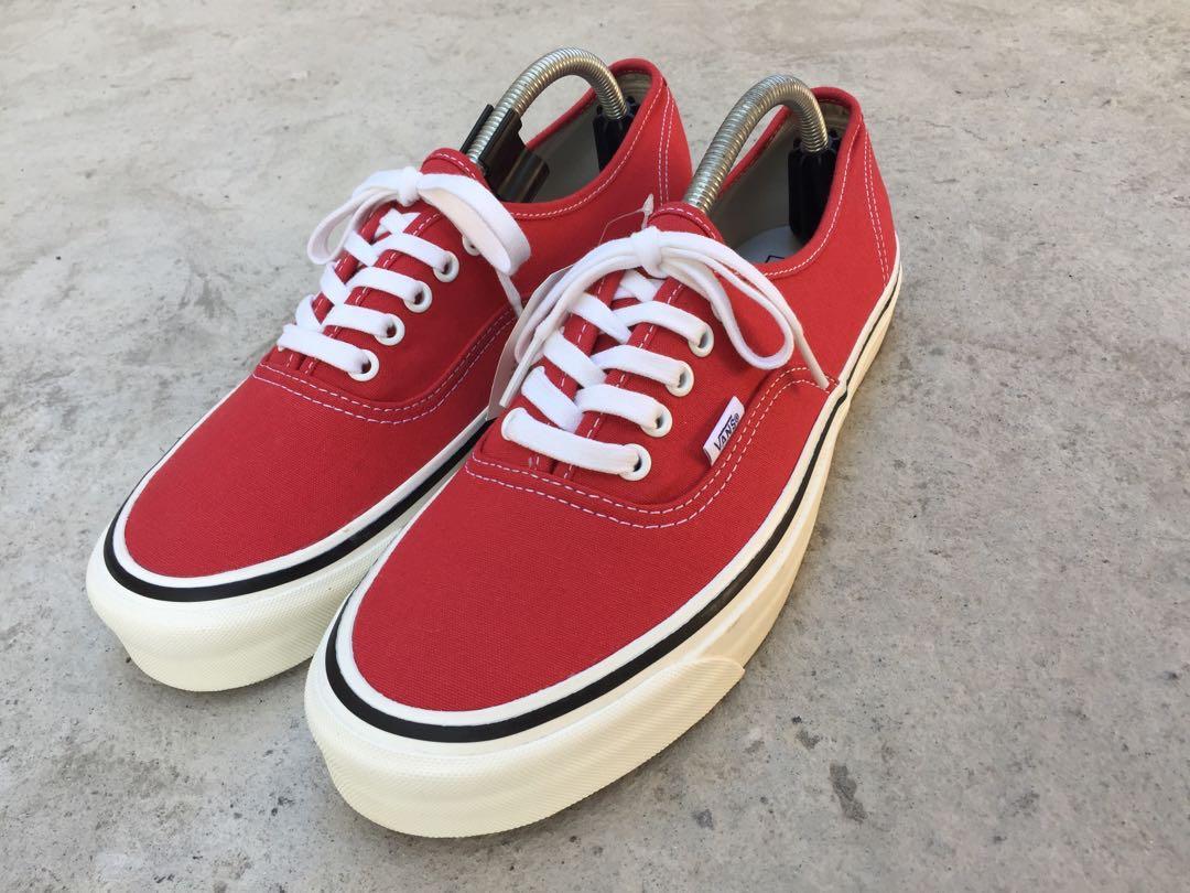 Vans Authentic Anaheim Racing Red, Men
