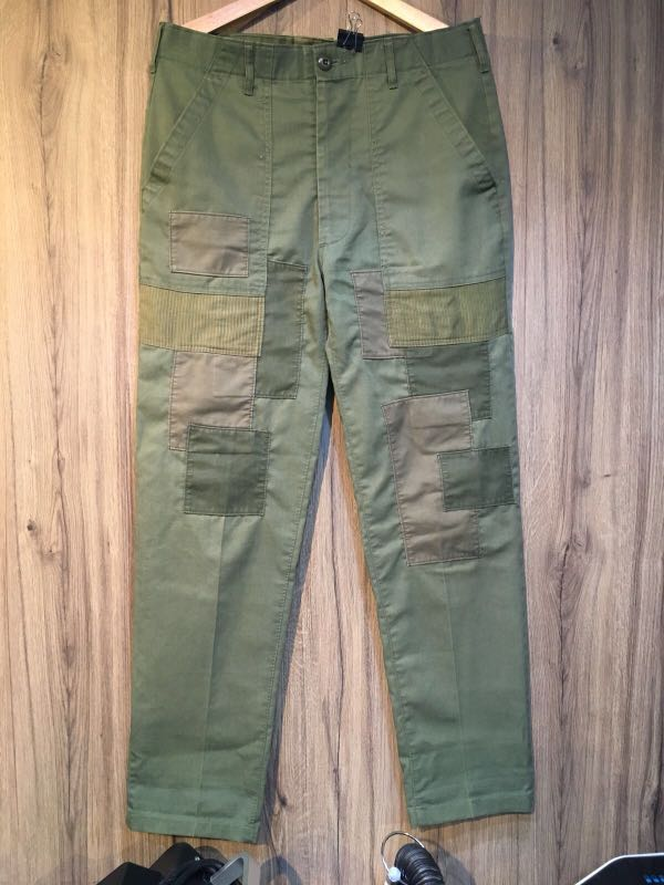 Vintage military pants ( patched works ) 0650dbadef6