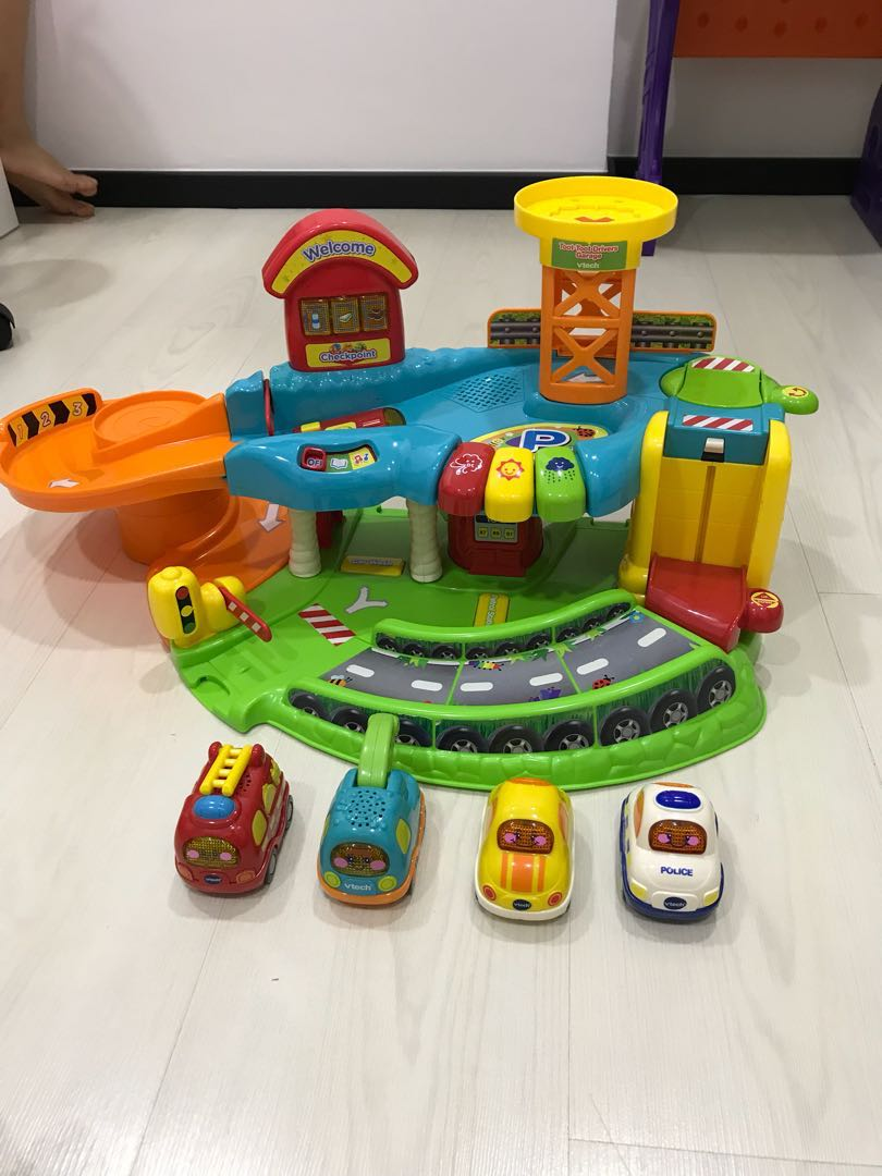 Vtech Toot Toot Drivers Garage Toys Games Others On Carousell