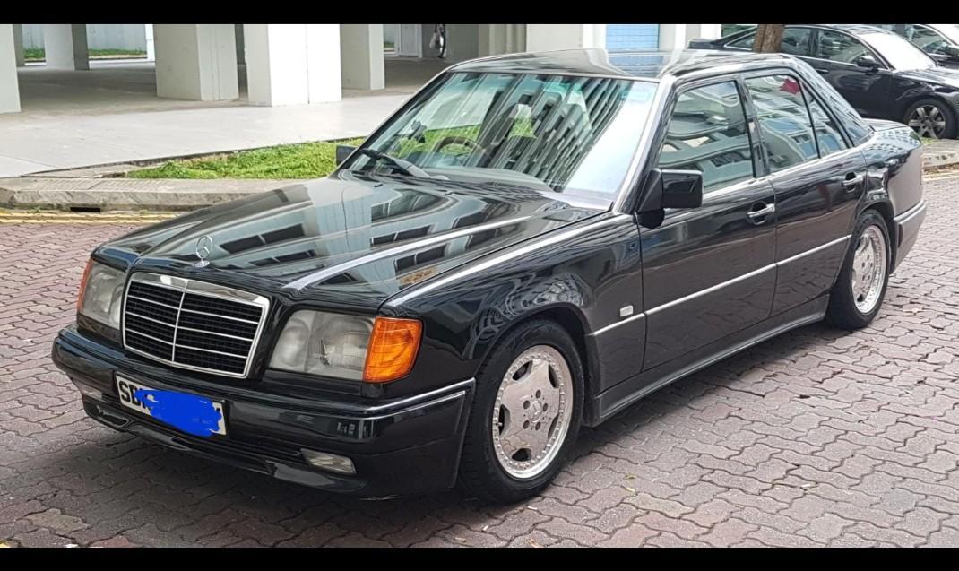 W124 Bilstein B8 suspension + H&R lowering springs, Car
