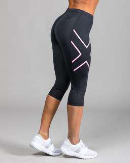 NWT 2XU Compression Workout Tights 3/4
