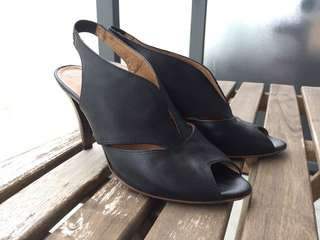 Soft leather heels (size 7)