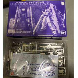 MG 1/100 H.W.S Expansion Set For Hi-Nu Gundam Ver. Ka HWS 擴充配件 卡版