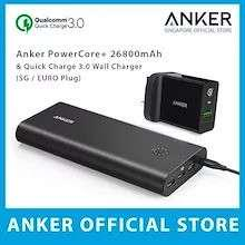 PowerCore+ 26800 and QC3.0 Wall Charger
