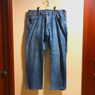 Classic Gap 1969 Denim Jeans in medium wash