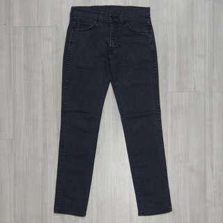 🚚 Levi's levis 84511-0187 w30 L32 黑色小直筒牛仔褲 511 512 523