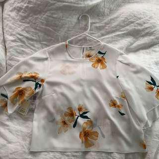Aritzia Wilfred Cambrai blouse BNWT