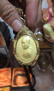 Kruba Krishna gold coin (Gold Frame)