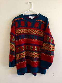 Rose Vintage Sweater