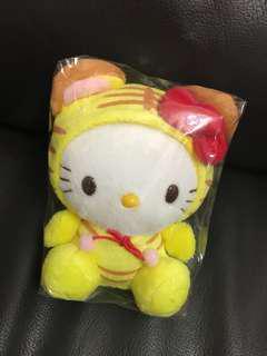Hello Kitty 毛公仔 老虎仔