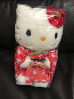 Hello Kitty 和服 毛公仔