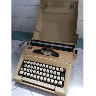 Smith-Corona Courier Portable Typewriter