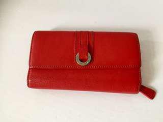 Danier-Leather-Red-Wallet