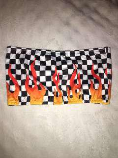 Checkered Flame Tube