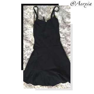Guess Black Sweetheart Dress