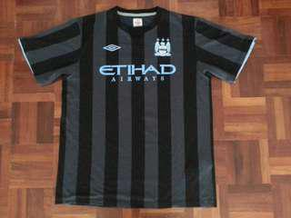 Authentic Manchester City euro away kit 2012-13