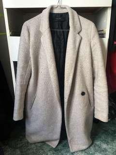 Zara Light Beige Coat