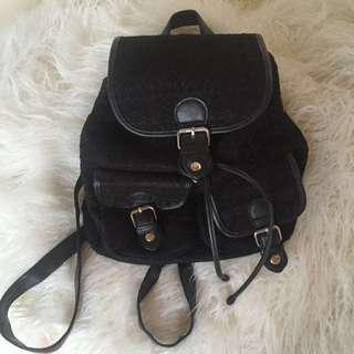 💖Black Lace Backpack