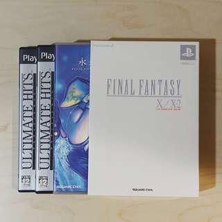 Playstation PS2 FF Final Fantasy X/X-2 Ultimate Box