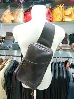 Tas Kulit SlingBags Casual Mens Cool Fashion VNT.012