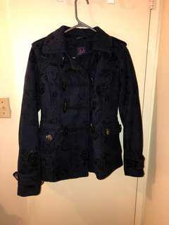 Dark Blue Material Girl Jacket