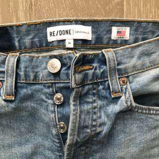 RE/DONE Levis Size 25