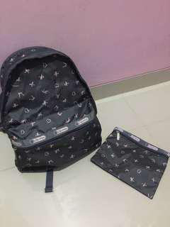 Tas Backpack LeSportsac (Asli)