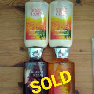 Clearance Bath & Body Works Body Lotions