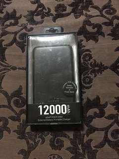 🆕tech M 12000mAh Power Bank