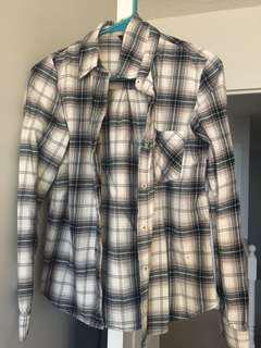 Selling Forever21 plaid shirt in size small