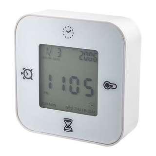 Ikea clock/ thermometer/ alarm/ timer