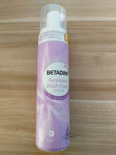 New Betadine Feminine Wash Foam 200ml