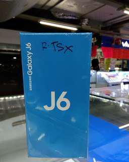 Samsung J6 free 1x cicilan