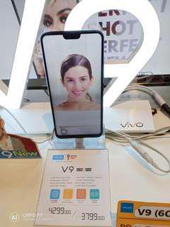 Vivo V9 Ram 6 ptomo 0.99 dan free 1x cicilan
