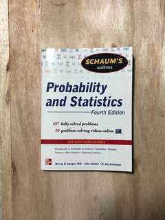 Probability and Statistics - Fourth Edition (Schaum's Outlines)