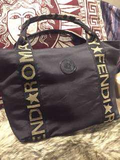 Vintage FENDI Nylon Handbag 80s