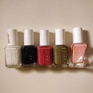 Essie nail polish various colours REDUCED