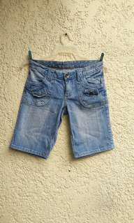 Maong Long Shorts