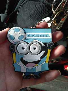 Argentina key chain