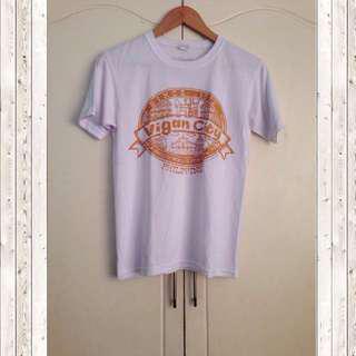 Vigan white souvenir shirt