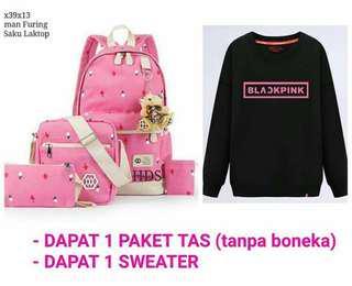 Tas+Sweater Blackpink