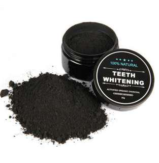 The Charcoal Teeth Whitening Powder