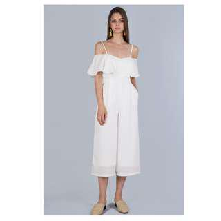 842f4f64ec89 TTR lucca jumpsuit in white