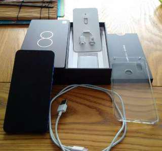 Xiaomi mi8 blue