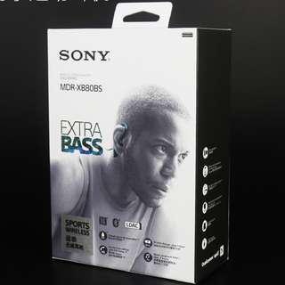 Sony - XB80BS Extra Bass Sports Wireless In-Ear Headphones