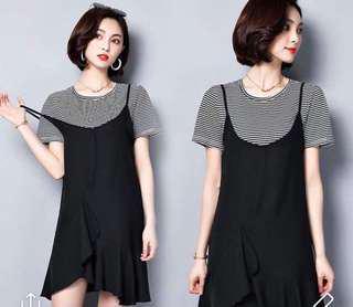 Brand New Korean Style Dress / plus size