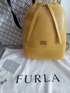 Furla Bag backpack jelly candy collection yellow 袋 背包 背囊