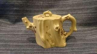 早期宜興紫砂壺、梅花樹樁壺