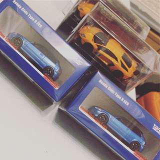Tarmac 1/64 Civic TypeR Ek9 限量999部