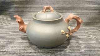 早期宜興紫砂壺、民國綠